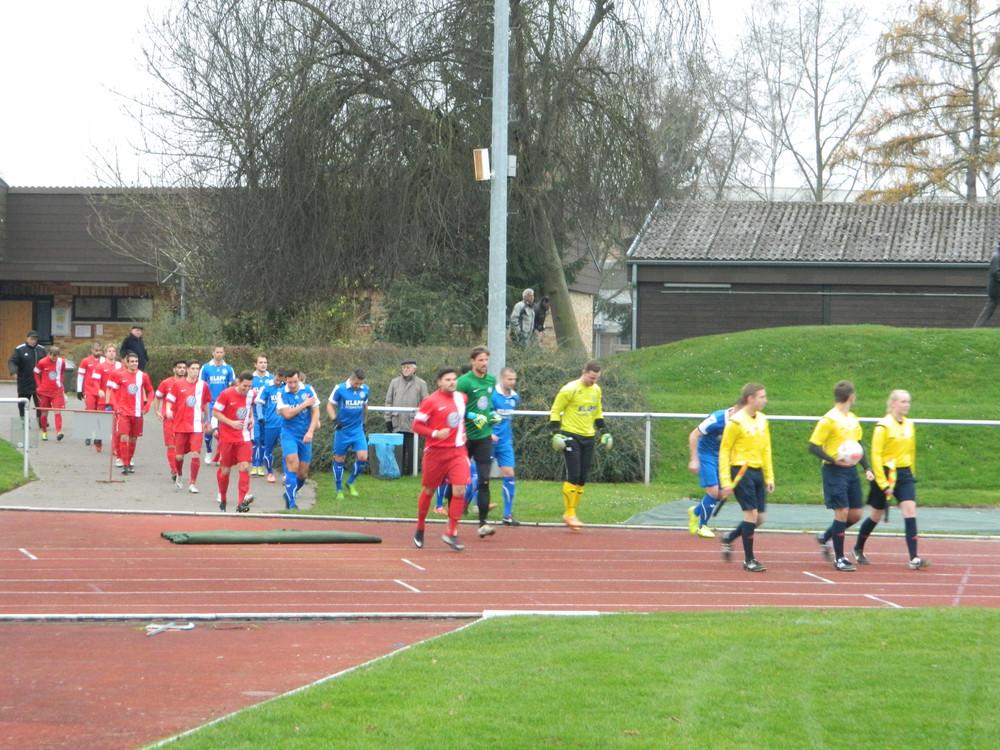 U23 gegen Eschege Nov14