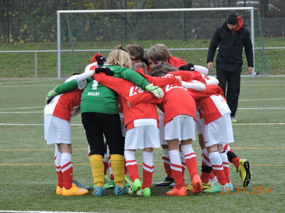 U11 gegen VFL Kassel Nov14