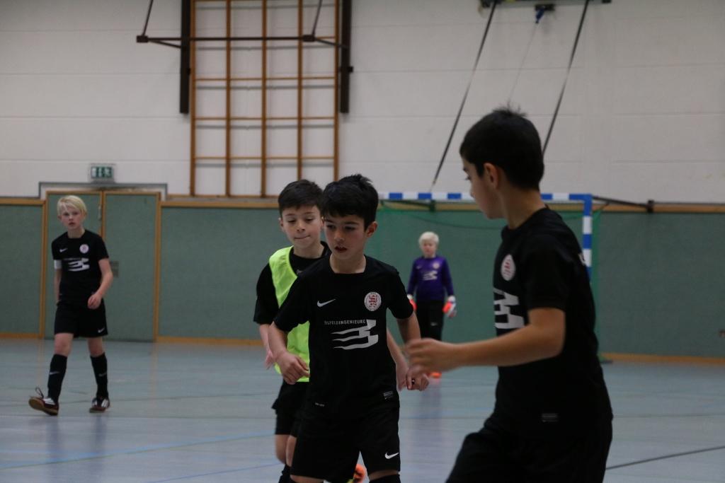 U10 beim Turnier von Fortuna Kassel