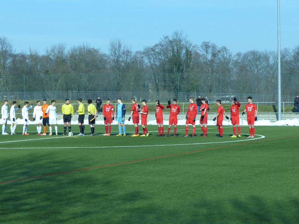 U17 gegen Darmstadt