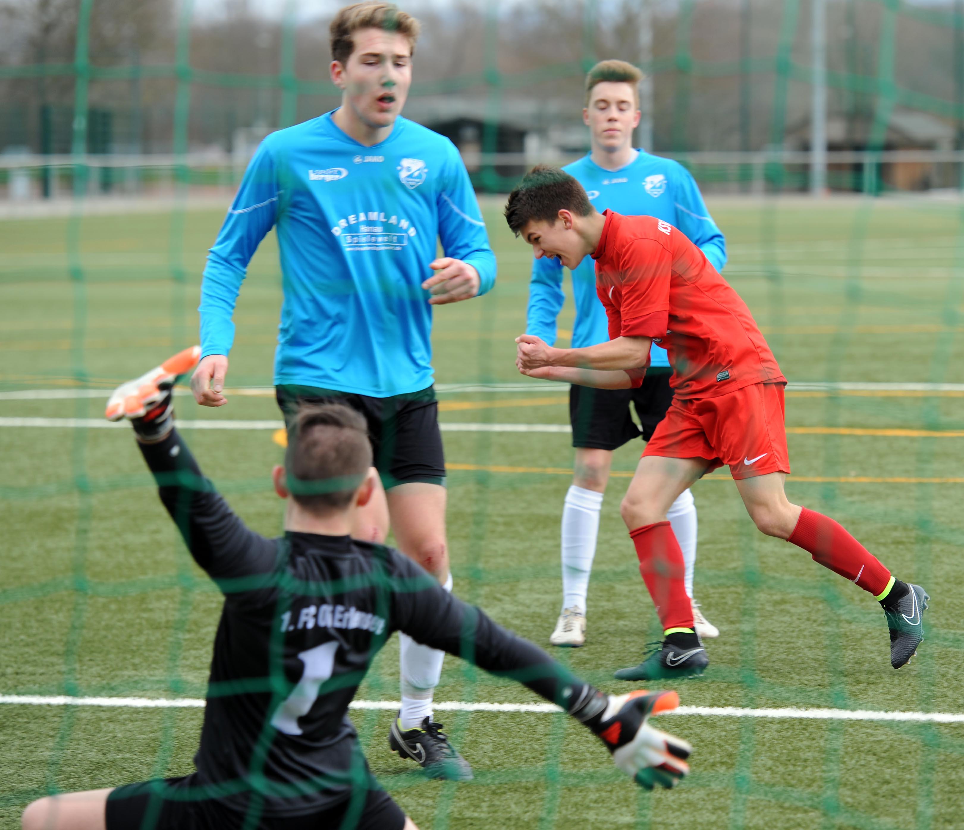 U17 - Erlensee (M�rz 2015)