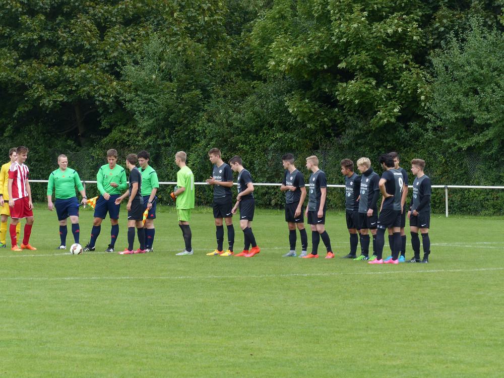 U17 gegen RW Frankfurt