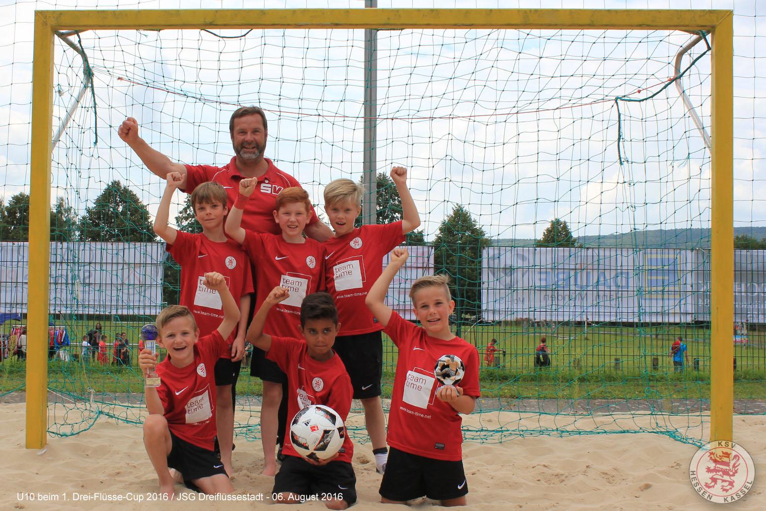 U10 1. Drei-Fl�sse-Cup 2016