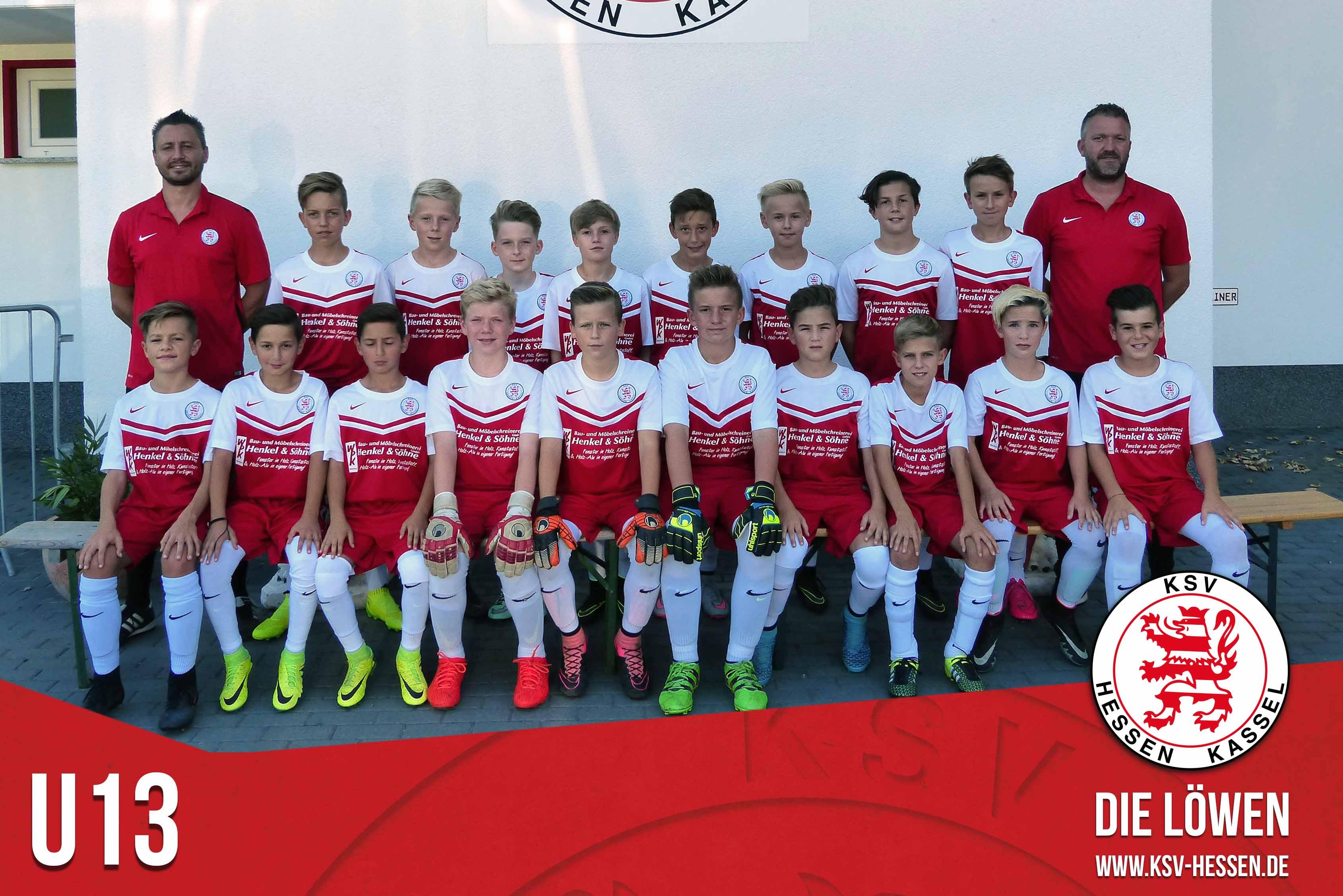 U13 Mannschaft 2016_17