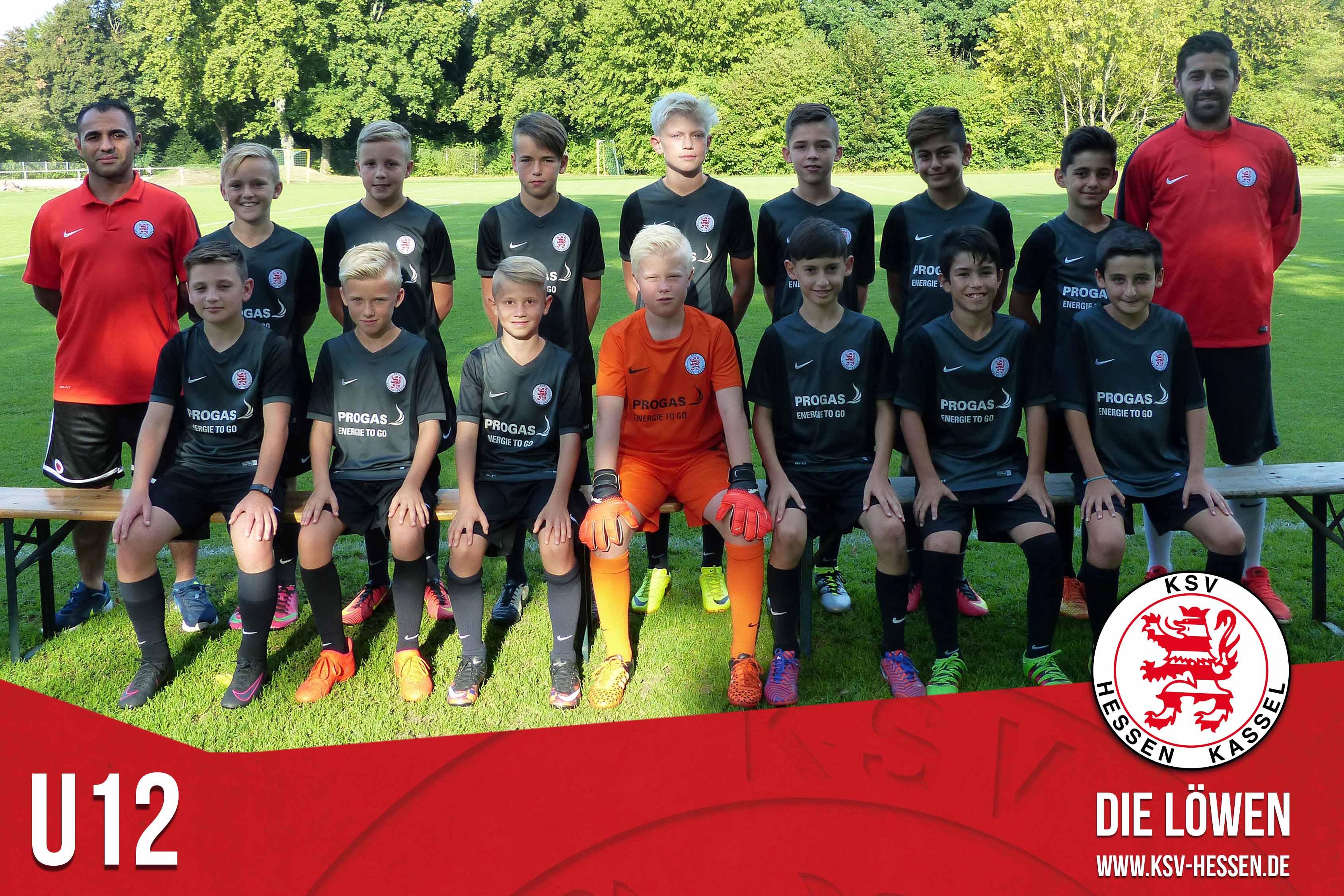 U12 Mannschaft 2016_17