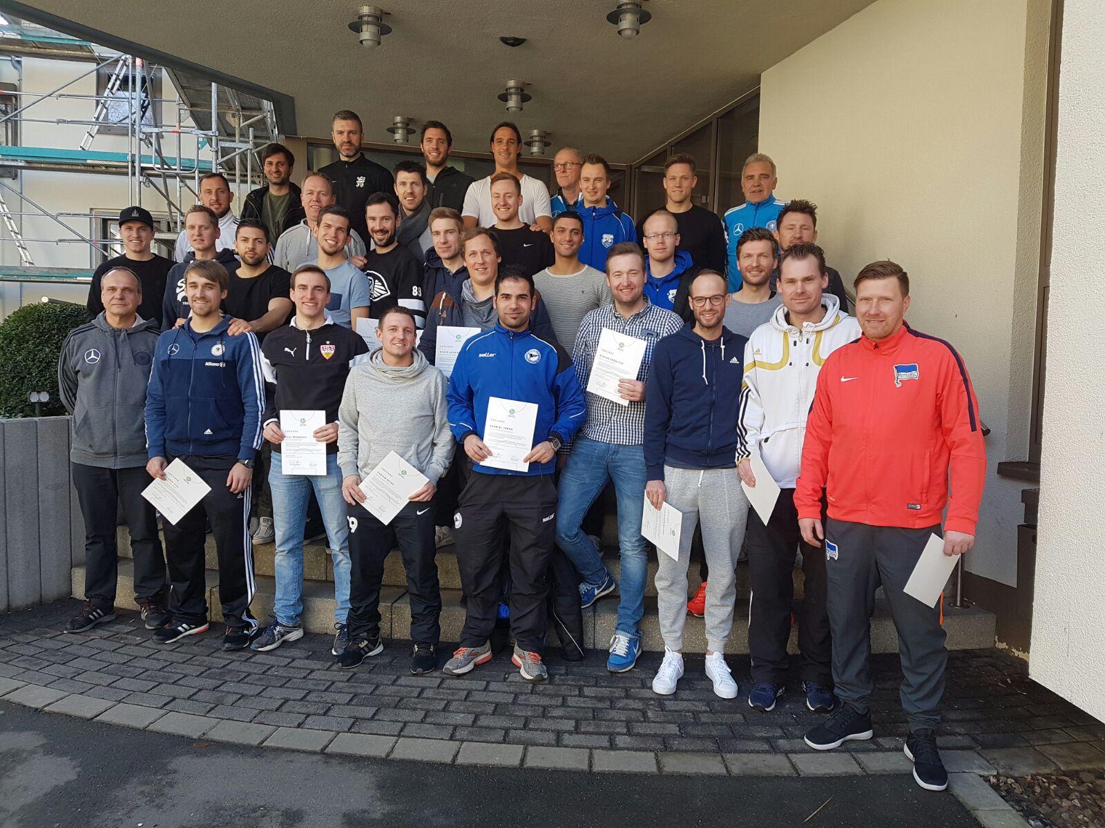 A Lizenz Trainerlehrgang Christian Andrecht