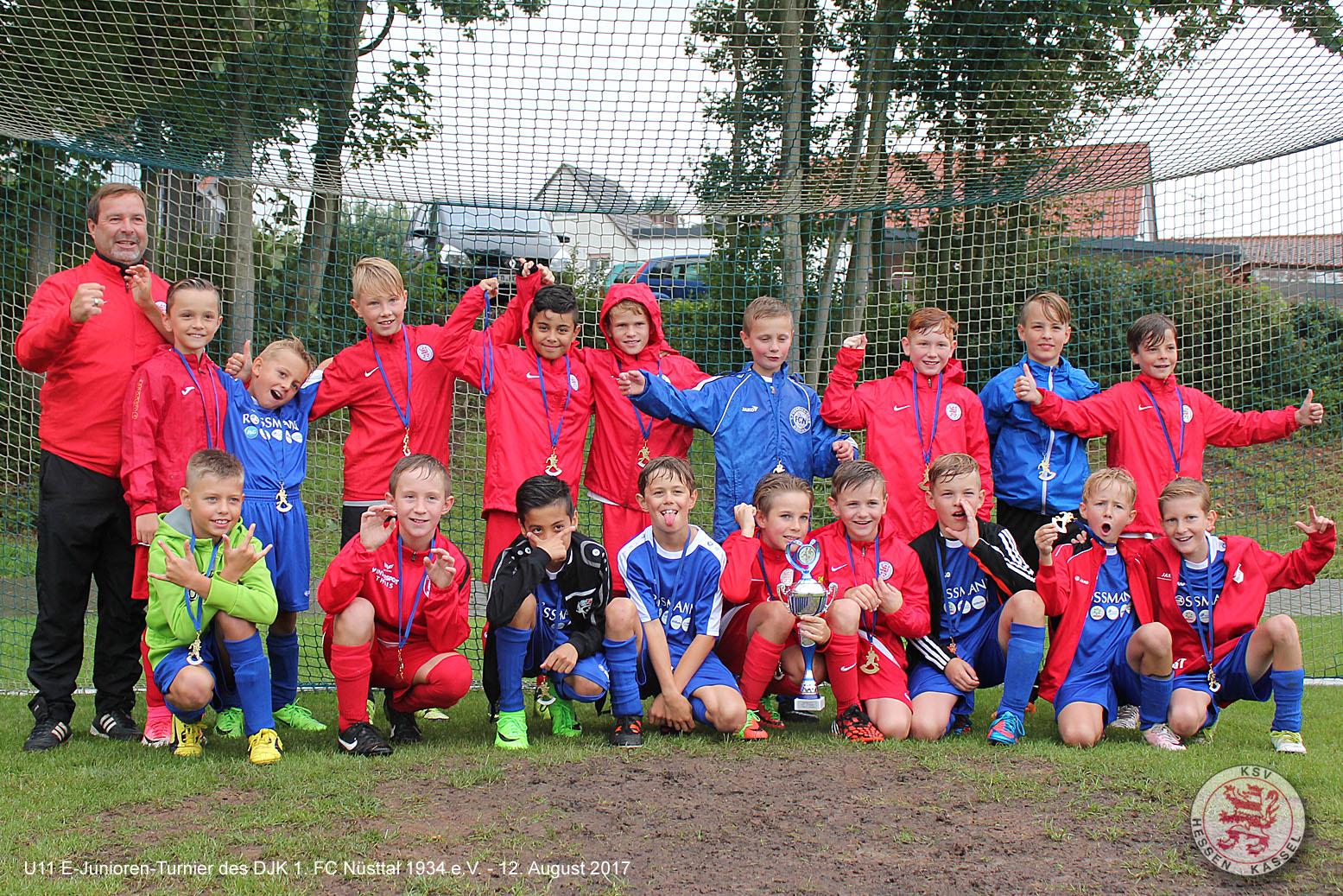 U11 Turnier 1.FC Nüsttal