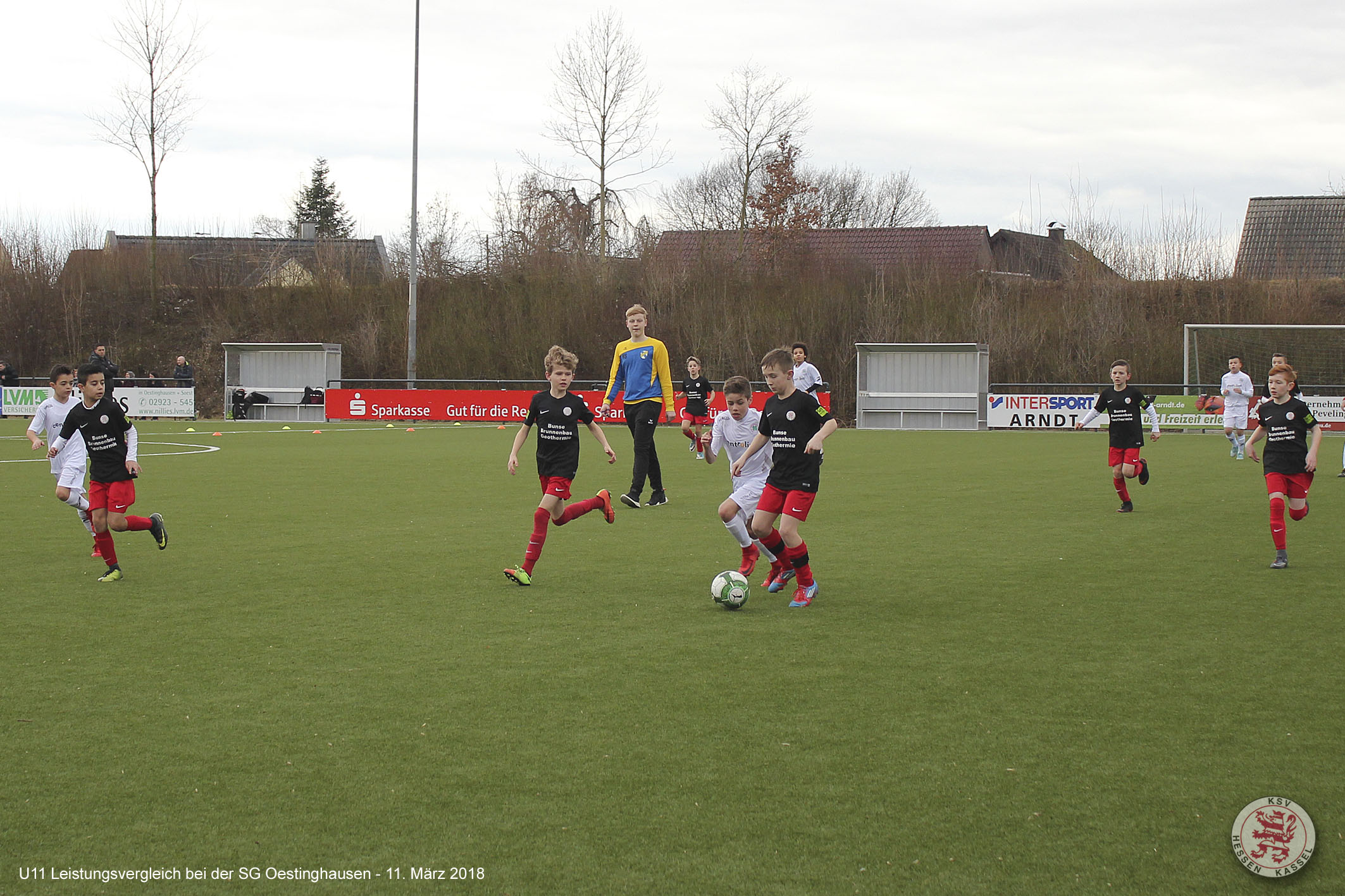 U11 Leistungsvergleich SG Oestinghausen