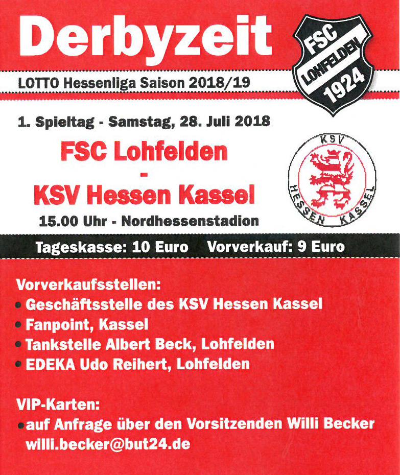 FSC Lohfelden - KSV