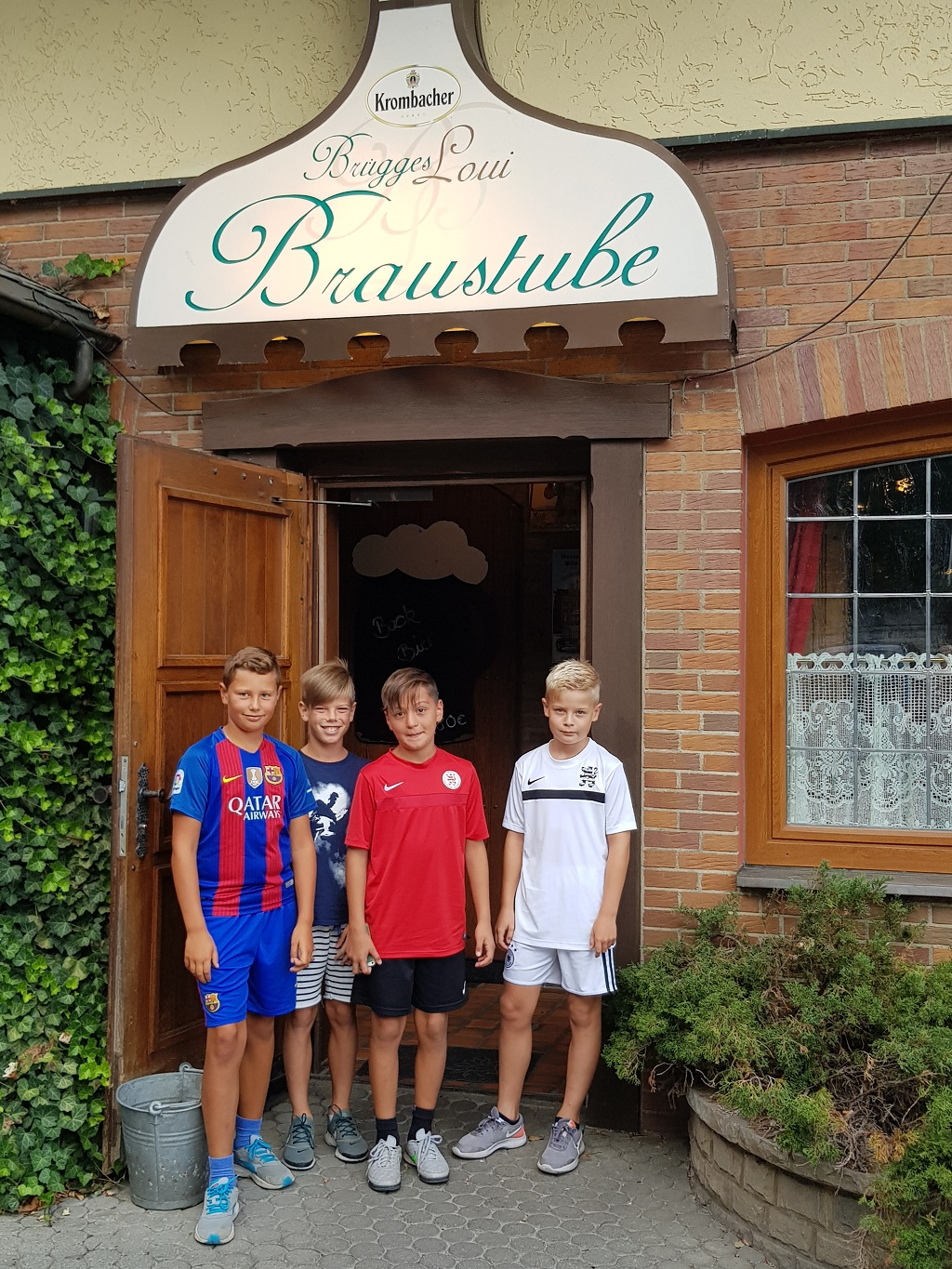 U11 Trainingslager in Usseln