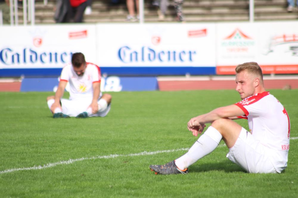Niederlage im Derby in Baunatal, Janik Ziegler und Marco Dawid