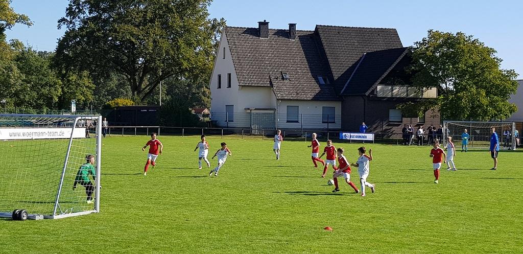U11 Turnier Schloss Holte