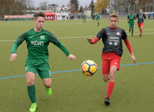U17 bei Kickers OF