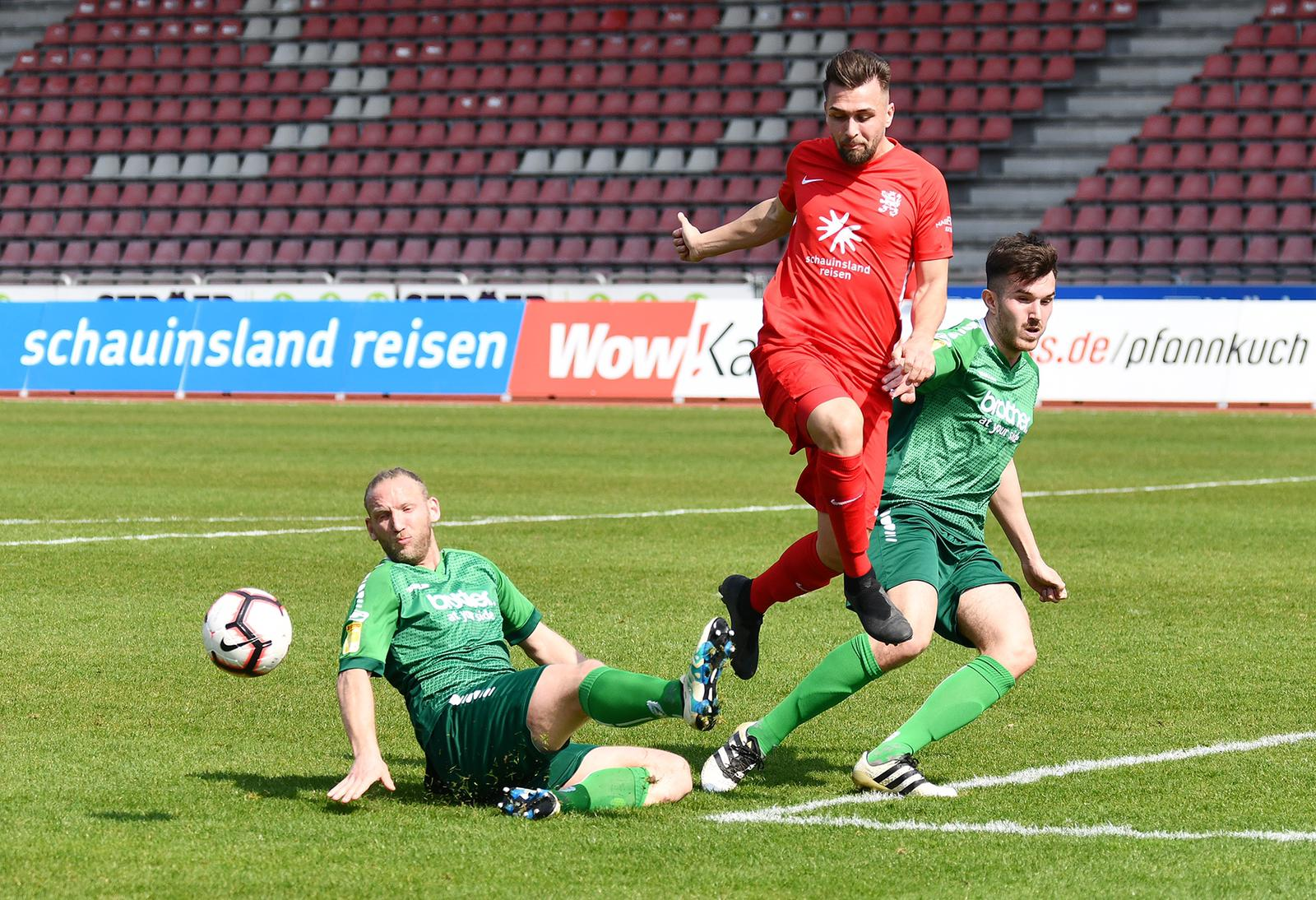 Marco Dawid im Spiel gegen FV Bad Vilbel