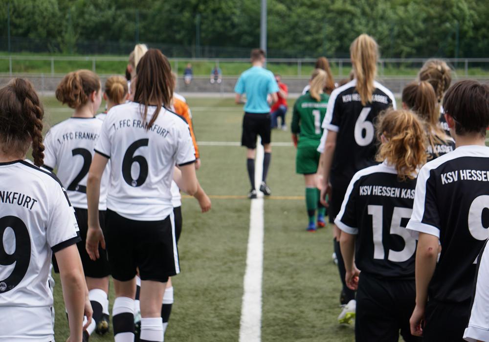 B Mädchen - 1 FFC Frankfurt (Pokal)