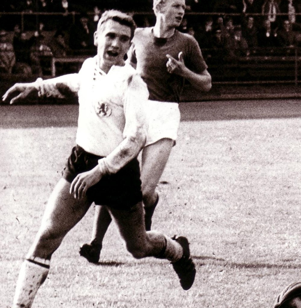 Walter Liebig 1965 im Trikot der Löwen