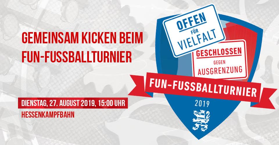 Fun-Fußballturnier Offen für Vielfalt-Cup