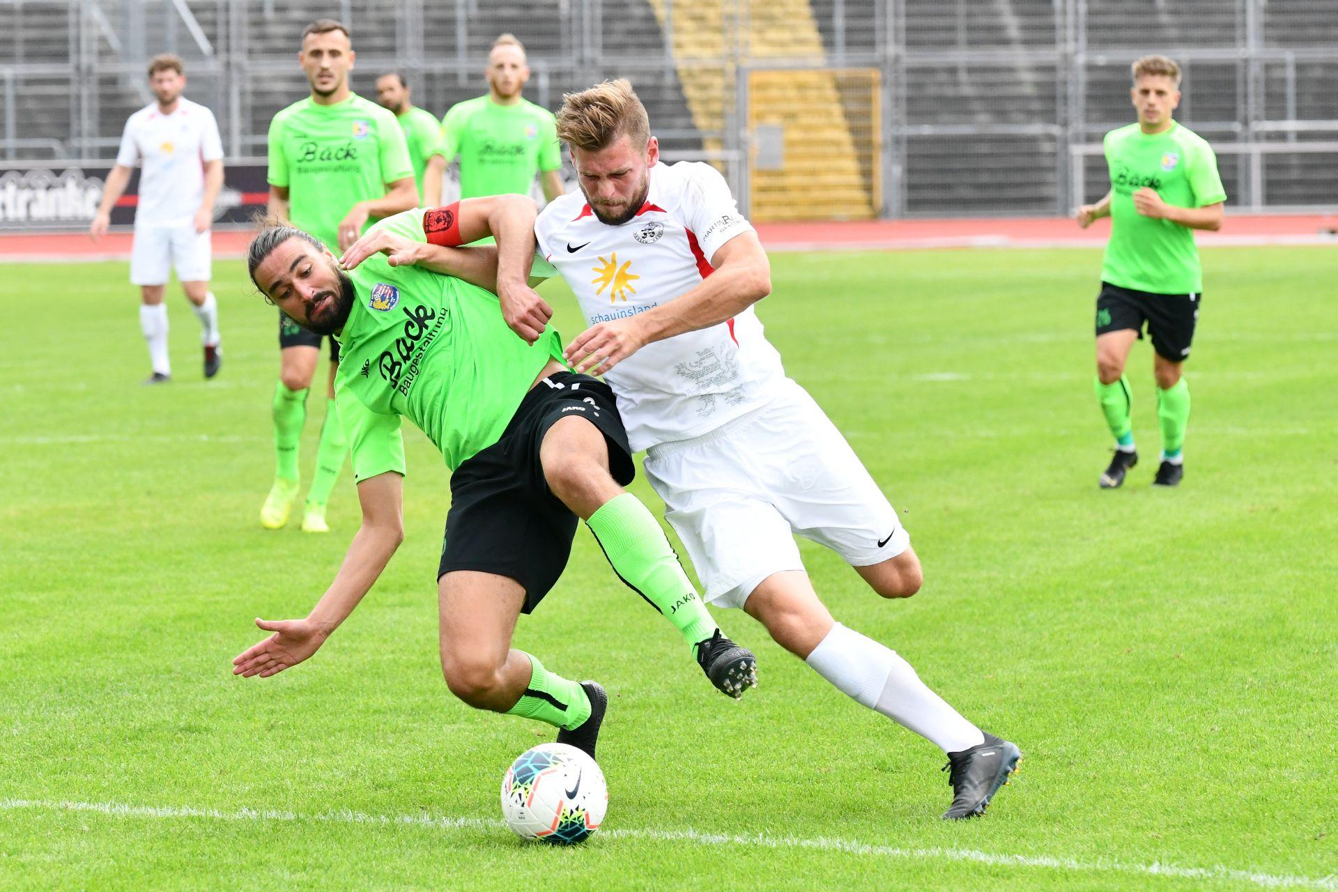 Lotto Hessenliga 2019/2020, KSV Hessen Kassel, TSV Eintracht Stadtallendorf, Endstand 2:2, Sebastian Schmeer (KSV Hessen Kassel)