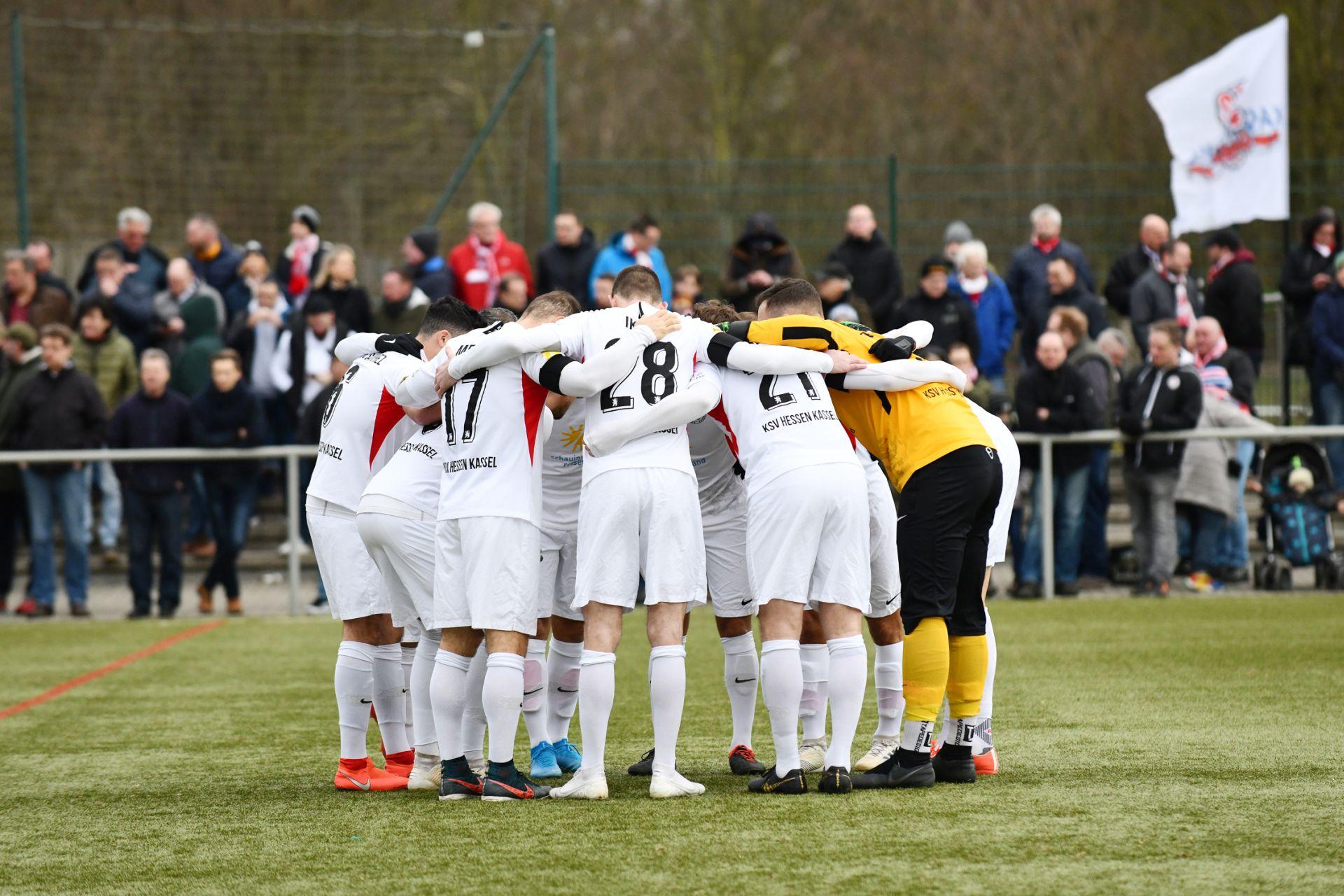 KSV Hessen Kassel, KSV Baunatal, Kreispokal, Viertelfinale, Endstand 4:2