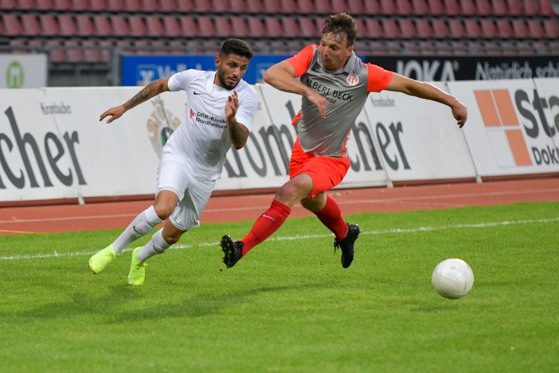 Kreispokal-Halbfinale, CSC 03 Kassel, KSV Hessen Kassel, Endstand 1:5