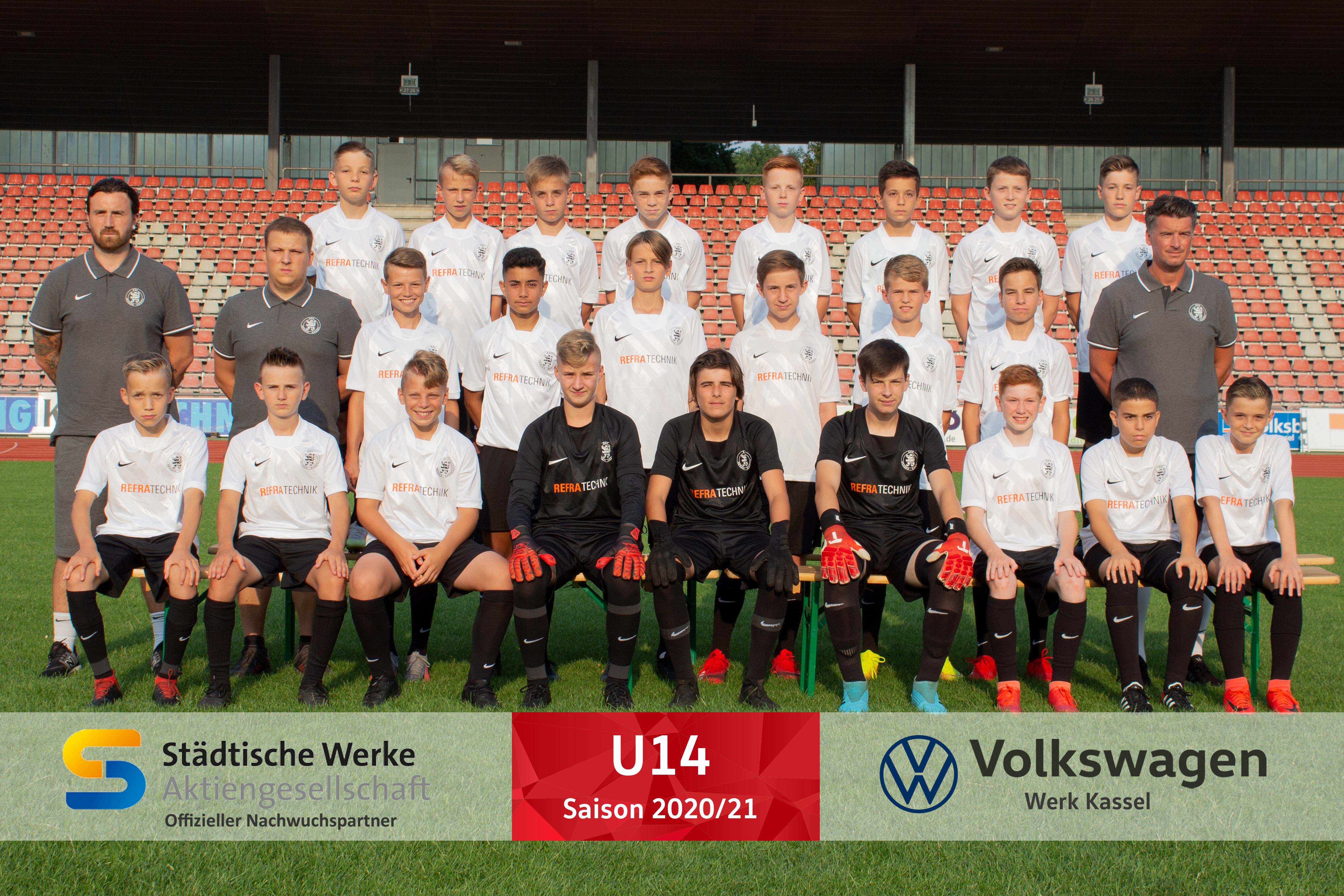 U14 Mannschaft 2020_21