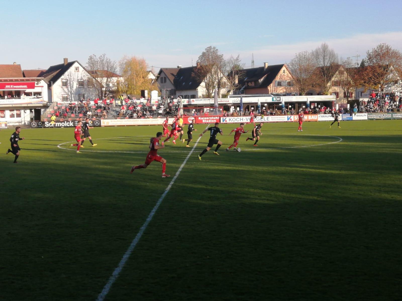 Bahlinger SC - KSV Hessen Kassel