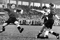 KSV Hessen gegen VfB Stutgart 1954