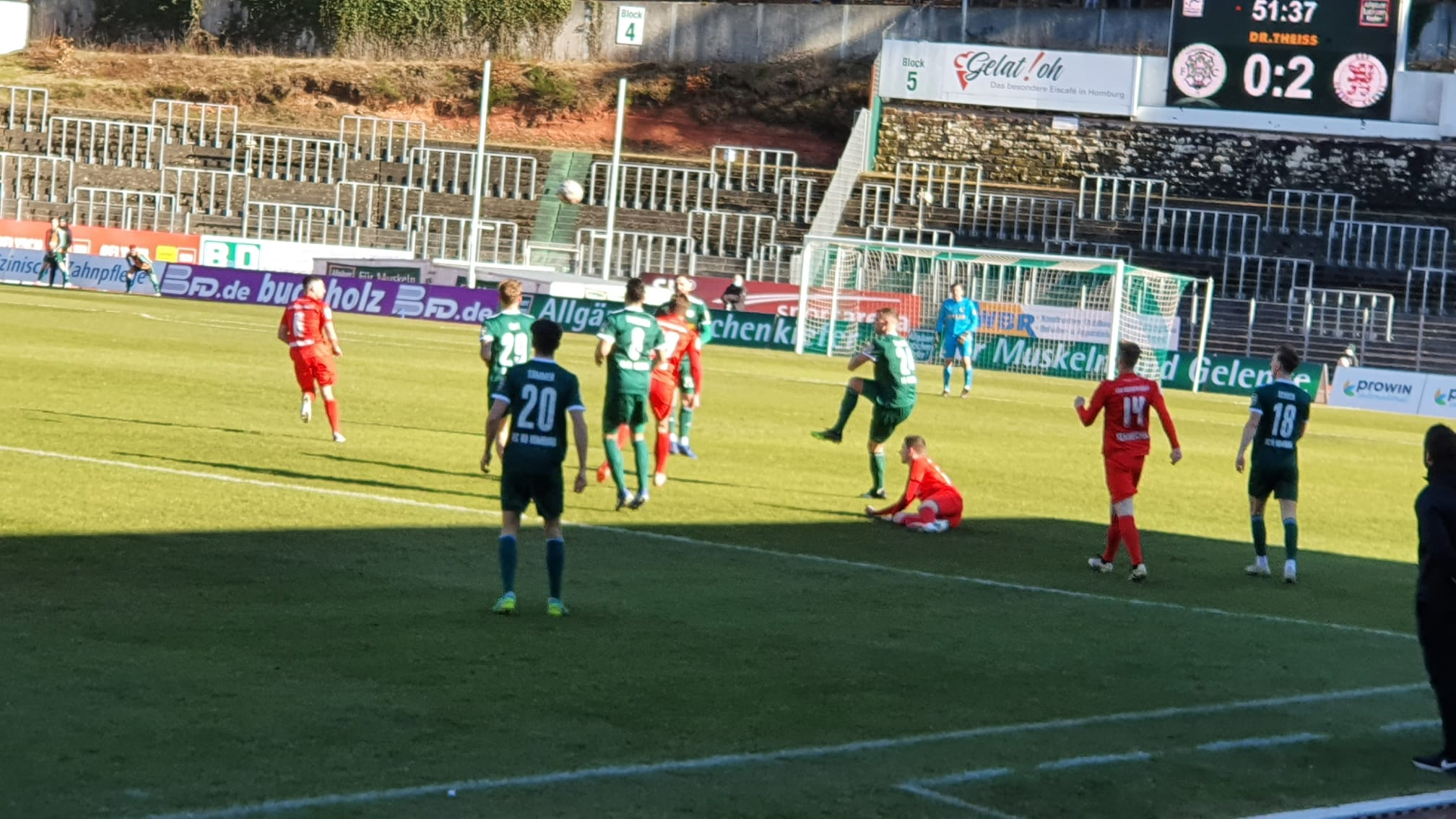 FC 08 Homburg - KSV Hessen Kassel