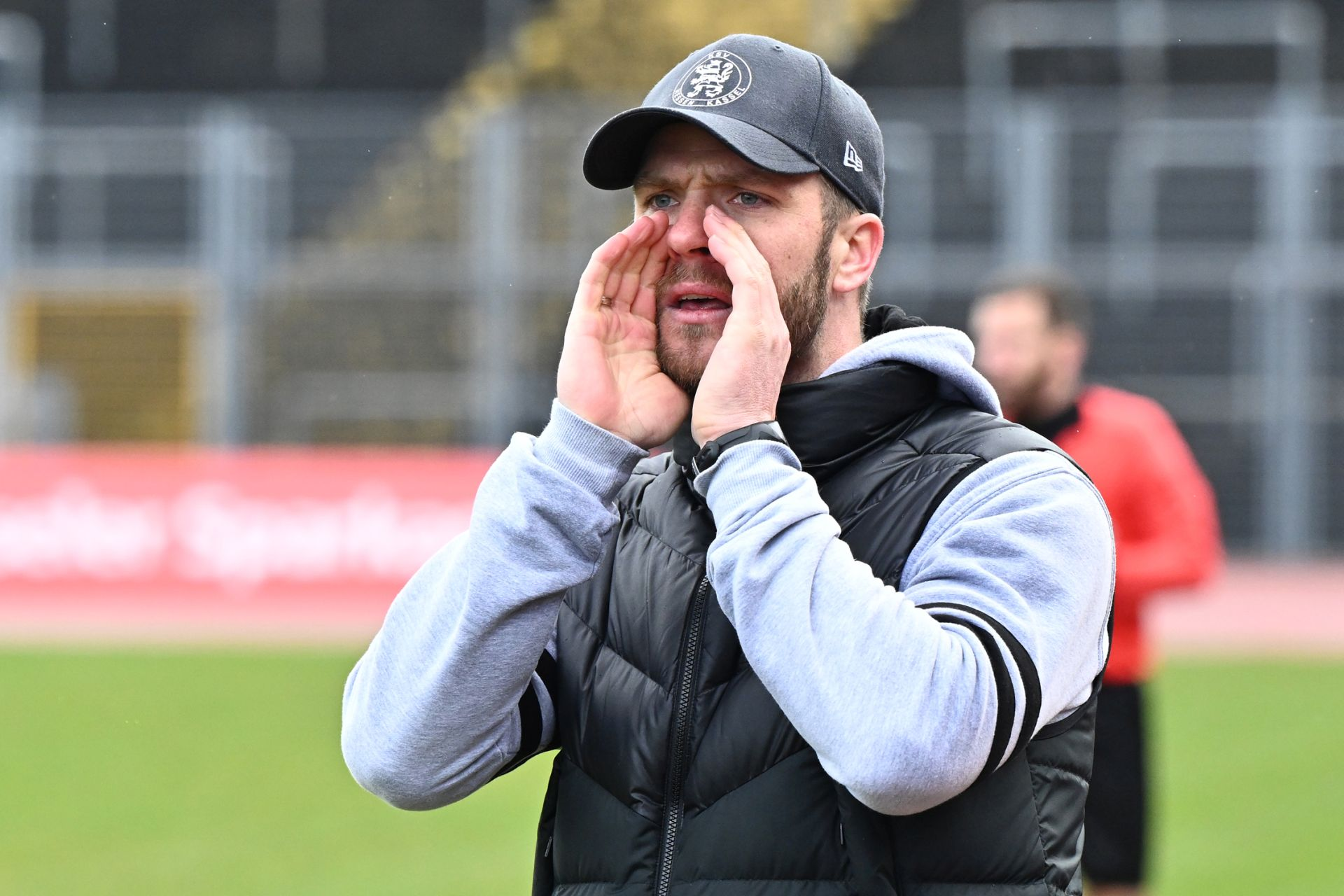 Regionalliga Südwest 2020/21, KSV Hessen Kassel, FSV Frankfurt, Endstand 2:1, Tobias Damm