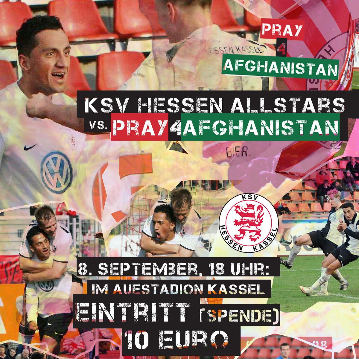 Benefizspiel Pray4Afghanistan
