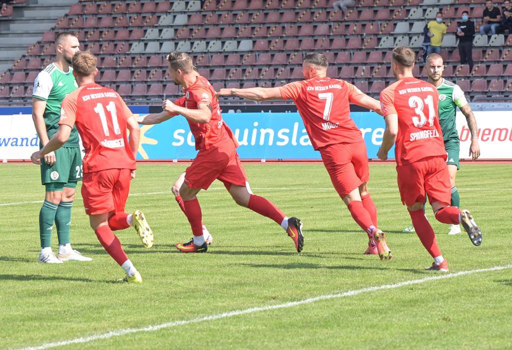 KSV Hessen - FC 08 Homburg