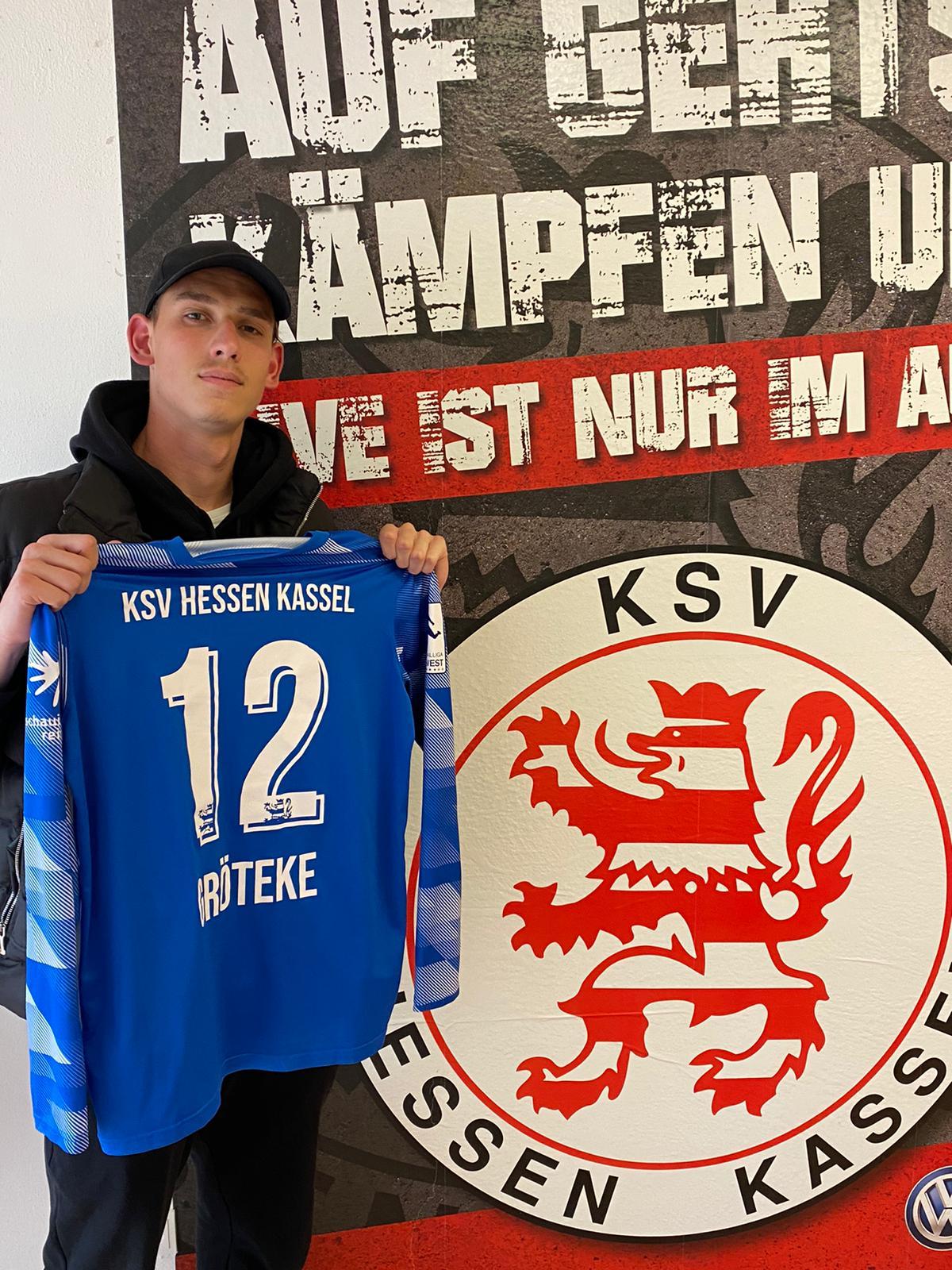 Nicolas Gröteke verlängert seinen Vertrag bis 2023