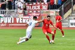Lotto Hessenliga 2018/2019, KSV Hessen Kassel, VFB Ginsheim, Endstand 2:2, Adrian Bravo Sanchez (KSV Hessen Kassel)