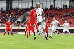Lotto Hessenliga 2018/2019, KSV Hessen Kassel, VFB Ginsheim, Endstand 2:2, Sebastian Schmeer (KSV Hessen Kassel)