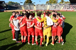 Lotto Hessenliga 2018/2019, KSV Hessen Kassel, SG Barockstadt Fulda-Lehnerz, Endstand 4:1