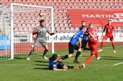 Lotto Hessenliga 2018/2019, KSV Hessen Kassel, SG Barockstadt Fulda-Lehnerz, Endstand 4:1, Michael Voss (KSV Hessen Kassel)