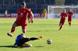 Lotto Hessenliga 2018/2019, KSV Hessen Kassel, SG Barockstadt Fulda-Lehnerz, Endstand 4:1, Maik Baumgarten (KSV Hessen Kassel)