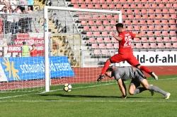Lotto Hessenliga 2018/2019, KSV Hessen Kassel, SG Barockstadt Fulda-Lehnerz, Endstand 4:1, Marco Dawid (KSV Hessen Kassel)