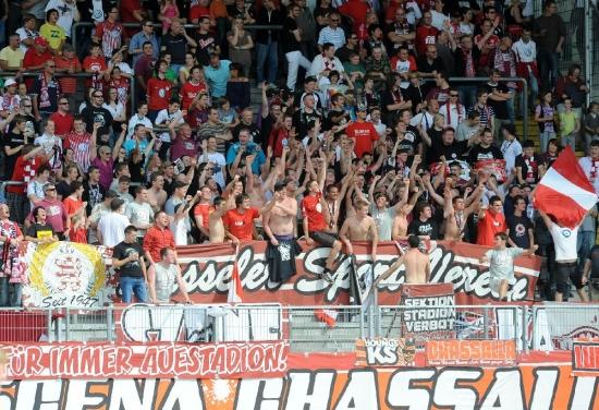 KSV Hessen - TSG 1899 Hoffenheim II: Fans