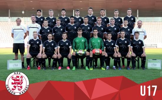 U17 Mannschaftsfoto 2017_18