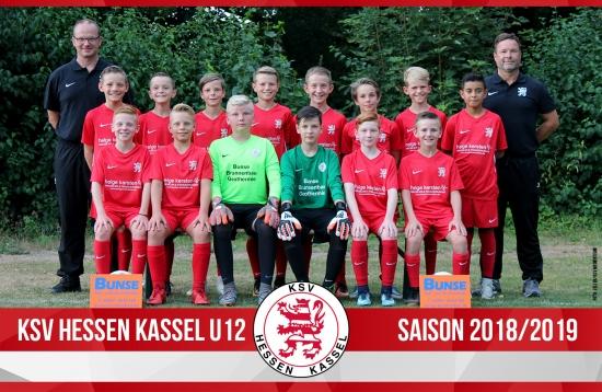 U12 Mannschaft 2018_19
