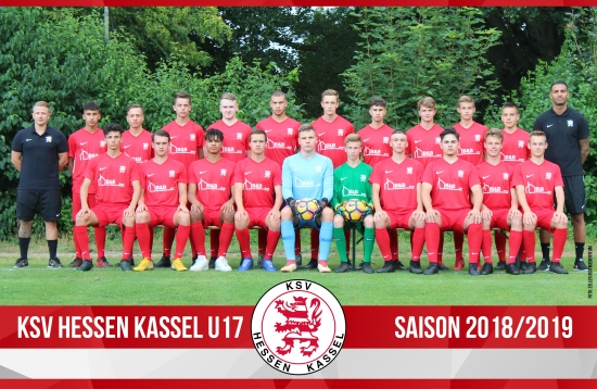 U17 Mannschaft 2018_19