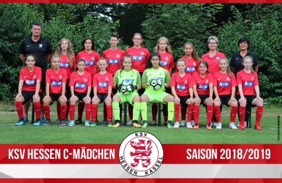 C Mädchen Mannschaft 2018_19