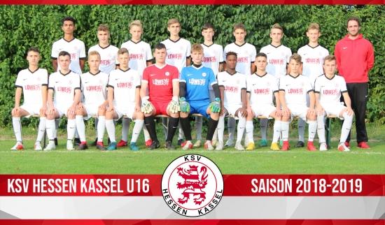 U16 Mannschaft 2018_19