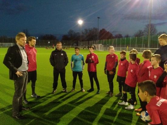 U12 Training mit Freddy