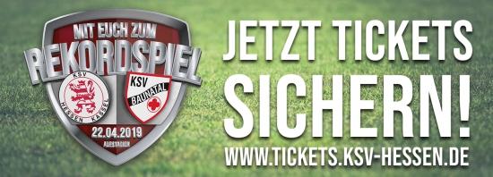 Rekordspiel KSV Hessen - KSV Baunatal am Ostermontag, 22.4.2019