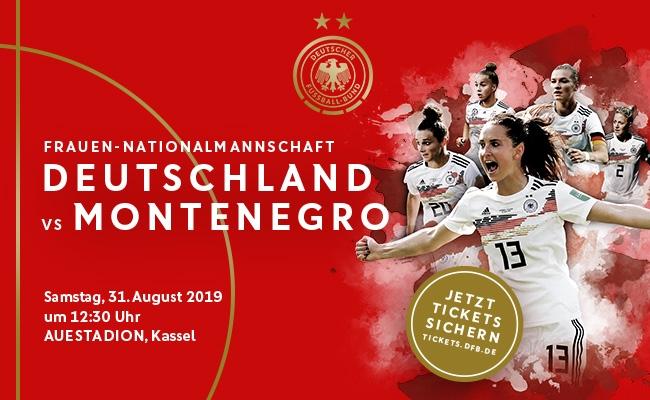 Frauenländerspiel am 31.8.19