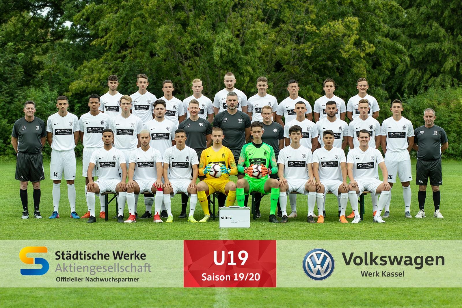 U19 Mannschaft 2019_20