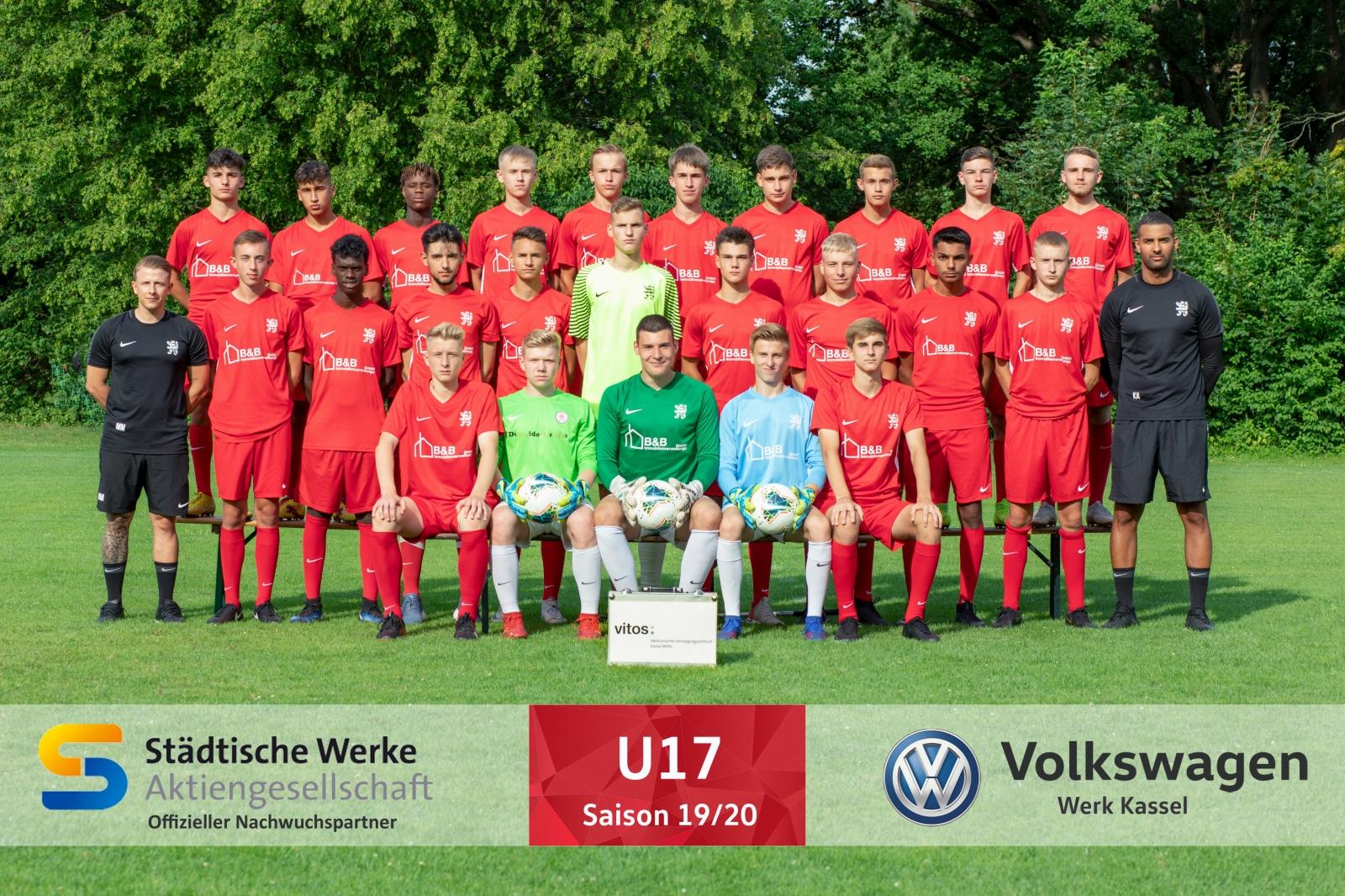 U17 Mannschaft 2019_20