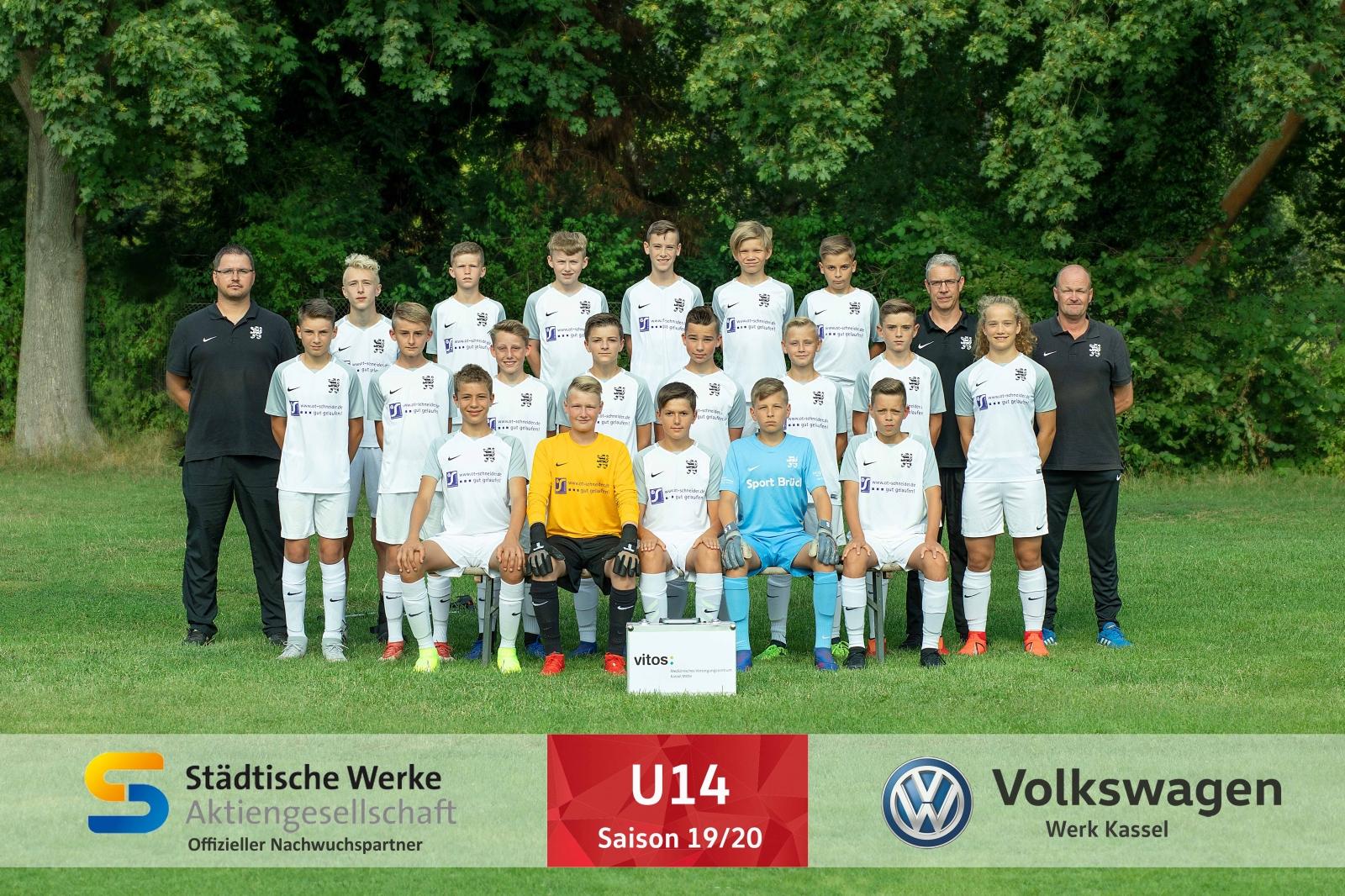 U14 Mannschaft 2019_20